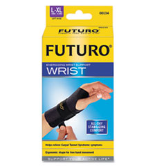 Futuro Energizing Wrist Support, Large/XLarge, Fits Left Wrists 6 3/4