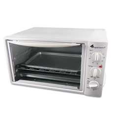 Coffee Pro Multi-Function Toaster Oven with Multi-Use Pan, 15 x 10 x 8, White