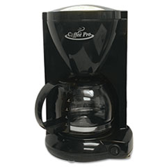 Coffee Pro Personal Home/Office Coffee Maker, Black