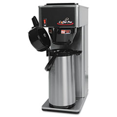 Coffee Pro Air Pot Brewer, Stainless Steel
