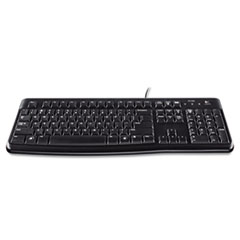 Logitech K120 Ergonomic Desktop Keyboard, USB, Black
