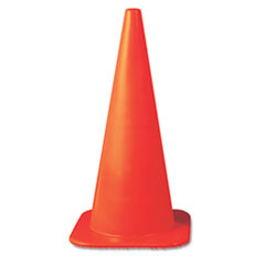 Jackson* Safety Brand W Series Cone, 10 3/4 x 10 3/4 x 18, Orange