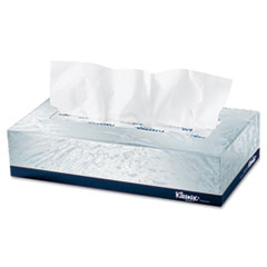 KIMBERLY-CLARK PROFESSIONAL* KLEENEX White Facial Tissue, 2-Ply, White, POP-UP Box, 125/Box