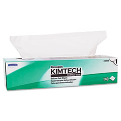 KIMTECH SCIENCE KIMWIPES, Tissue, 16 3/5 x 16 5/8, 140/Box