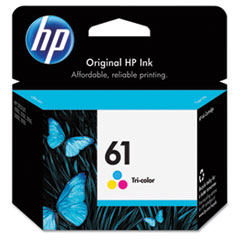 CH562WN (HP61) Ink Cartridge, 165 Page-Yield, Tri-Color
