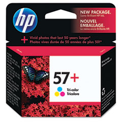 CB278AN (HP 57) Ink Cartridge, 500 Page-Yield, Tri-Color