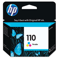 CB304AN (HP 110) Ink Cartridge, Tri-Color