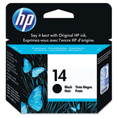 C5011D (HP 14) Ink Cartridge, 800 Page-Yield, Black