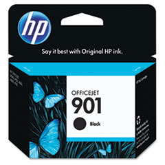 CC653AN (HP 901) Ink Cartridge, 200 Page-Yield, Black