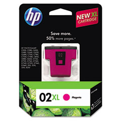 HP 02XL, (C8731WN) High Yield Magenta Original Ink Cartridge