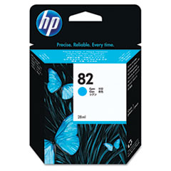 CH566A (HP 82) Ink Cartridge, 28mL, Cyan