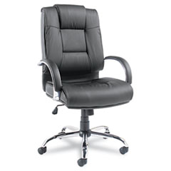 ALE RV41LS10C Alera Ravino Series High-Back Swivel/Tilt Leather Chair ALERV41LS10C