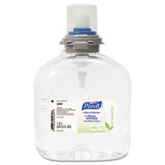 PURELL TFX Green Certified Instant Hand Sanitizer Gel Refill, 1200-ml, Clear