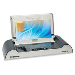 Fellowes Helios Thermal Binding Machine, 300 Sheets, 20-7/8w x 9-7/16d x 3-15/16h, Gray