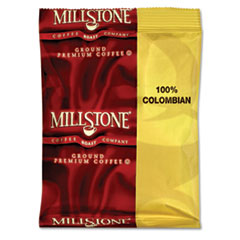 Millstone Gourmet Colombian Coffee, 1 3/4oz Packet, 40/Carton