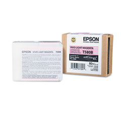 Epson T580B00 UltraChrome K3 Ink, Vivid Light Magenta