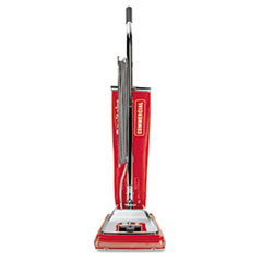 Electrolux Sanitaire Quick Kleen Commercial Vacuum w/Vibra-Groomer II, 17.5lb, Red