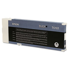 Epson T618100 Extra High-Yield Ink, 8,000 Page-Yield, Black