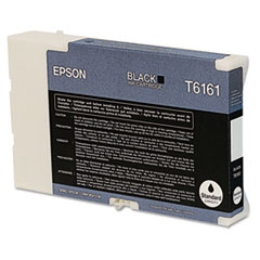 Epson T616100 Ink, 3,000 Page-Yield, Black
