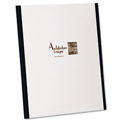 Oxford YourStyle Custom Tri-Folio Presentation Folder, Letter Size, Black/White, 4/Pack