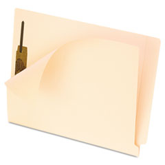 Pendaflex Anti Mold and Mildew End Tab File Folders, One Fastener, Letter, Manila, 50/Box