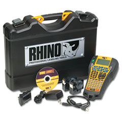 DYMO Rhino 6000 Industrial Label Maker Kit, 5 Lines, 13 4/5w x 17 4/5d x 4h