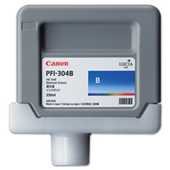 Canon 3857B001AA (PFI-304) Ink, 330mL, Blue