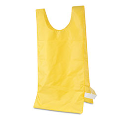 Champion Sports Heavyweight Pinnies, Nylon, One Size, Gold, 12/Box