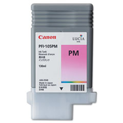 Canon 3005B001AA (PFI-105P) Ink, 130mL, Magenta