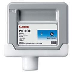 Canon 2959B001 (PFI-303C) Ink, 330 mL, Cyan