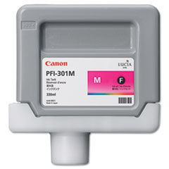 Canon 1488B001 (PFI-301M) Ink Tank, 330 mL, Magenta