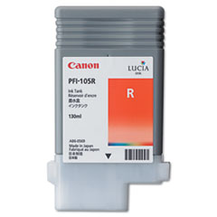Canon 3006B001AA (PFI-105) Ink, 130mL, Red