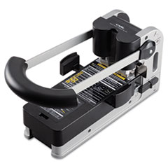 CARL 300-Sheet Extra Heavy-Duty XHC-2300 Two-Hole Punch, Strong Handle Grip