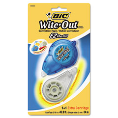 BIC Wite-Out EZ Refill Correction Tape, Refillable, 1/6