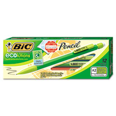 BIC Ecolutions Mechanical Pencil, 0.7mm, 12/DZ