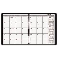 AT-A-GLANCE Recycled Monthly Planner, 9 x 11, Assorted Colors, 2013