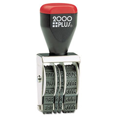 COSCO 2000 PLUS Four-Band Date Stamp, Conventional
