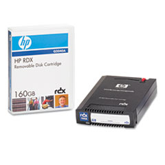 HP RDX Removable Disk Backup System, USB, 160GB