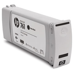 CM997A (HP 761) Ink Cartridge, 775 mL, Matte Black