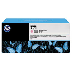 B6Y43A (HP 771) Ink Cartridge, 775 mL, Light Magenta, 3/Pk