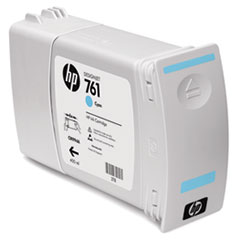 CM994A (HP 761) Ink Cartridge, 400 mL, Cyan