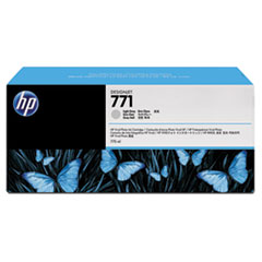 CR257A (HP 771) Ink Cartridge, 775 mL, Light Gray, 3/Pk