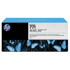 CR256A (HP 771) Ink Cartridge, 775 mL, Photo Black, 3/Pk