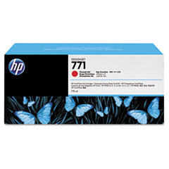 B6Y16A (HP 771) Ink Cartridge, 775 mL, Chromatic Red