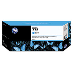 CN636A (HP 772) Ink Cartridge, 300mL, Cyan