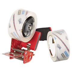 Scotch Packaging Tape Dispenser with 2 Rolls of Tape, 1.88