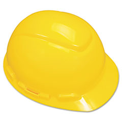 3M H-700 Series Hard Hat with 4 Point Ratchet Suspension, Yellow