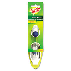 Scotch-Brite Heavy-Duty Soap-Dispensing Dishwand, 2 1/2 x 9 1/2