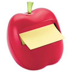 Post-it Pop-up Notes Apple Notes Dispenser for 3 x 3 Pads, Red