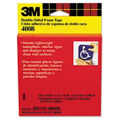 Scotch Foam Mounting Double-Sided Tape, 1